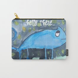 Blue Gecko watercolor Carry-All Pouch