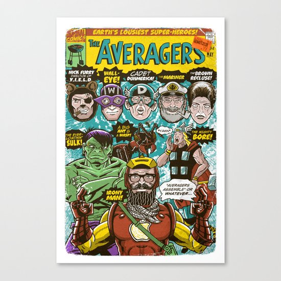 the Averagers Canvas Print