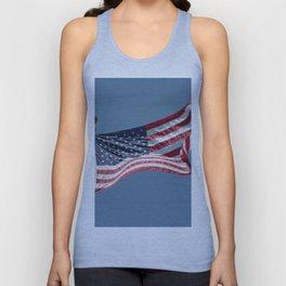 USA Flag Unisex Tank Top