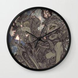 REMEMBER MIND (full moon) Wall Clock