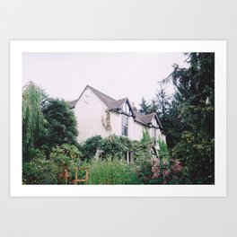 Lonely Cottage Art Print