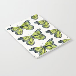 Lime Butterfly Notebook