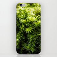 moss iPhone & iPod Skins featuring Moss by Michelle McConnell