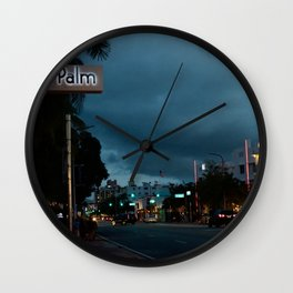 Royal Palm Wall Clock