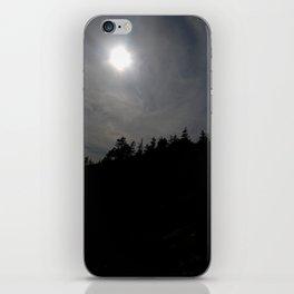 Treeline Silhouette iPhone Skin