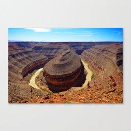 Goosenecks Utah Canvas Print
