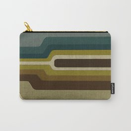 """Retro Lines"" Carry-All Pouch"