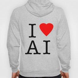 I love Artificial Intelligence NY Parody Hoody