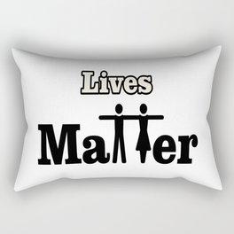 Lives Matter Rectangular Pillow