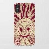 princess mononoke iPhone & iPod Cases featuring Princess Mononoke by andbloom