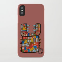 Dog hippo iPhone Case
