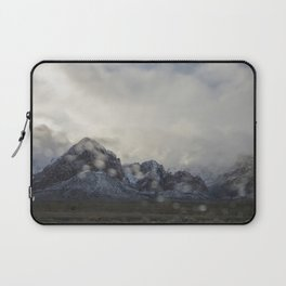 Snowy White Laptop Sleeve