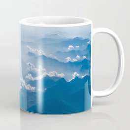 Clouds Over The Mountain Tops Coffee Mug