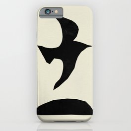 Black Bird iPhone Case