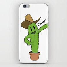 Cactus Rodeo iPhone Skin