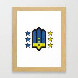 Ukrainian Insurgent Army  Framed Art Print