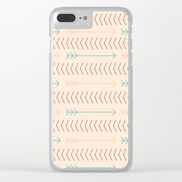 Shoot Straight (Moroccan Mosque) Clear iPhone Case