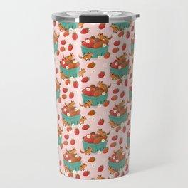Strawberry Basket Travel Mug