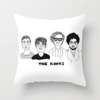 cactei Throw Pillows featuring Naïve by ☿ cactei ☿