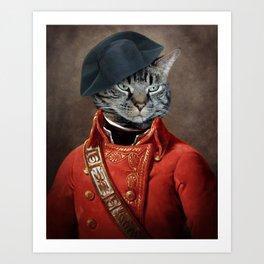 General Leonard J.Katz Art Print