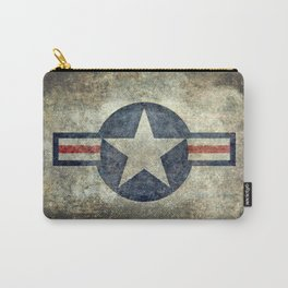 Stylized US Air force Roundel Carry-All Pouch