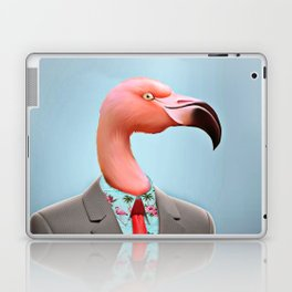 Pink Flamingo's Laptop & iPad Skin