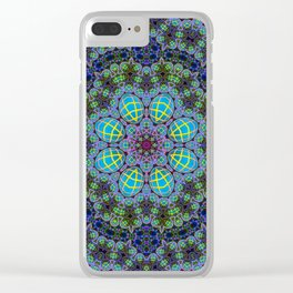 Glododelic Clear iPhone Case
