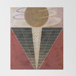 Altarpiece No 2 Hilma Af Klint Throw Blanket