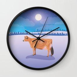 Jersey // Winter Wall Clock