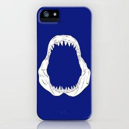 White Shark Jaw iPhone Case