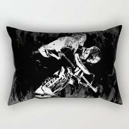 Ice Hockey Goalie Rectangular Pillow