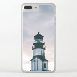 Washington Lighthouse Clear iPhone Case