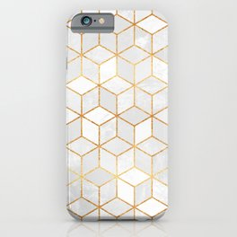 White Cubes iPhone Case