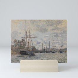 Claude Monet - La Seine à Rouen.jpg Mini Art Print