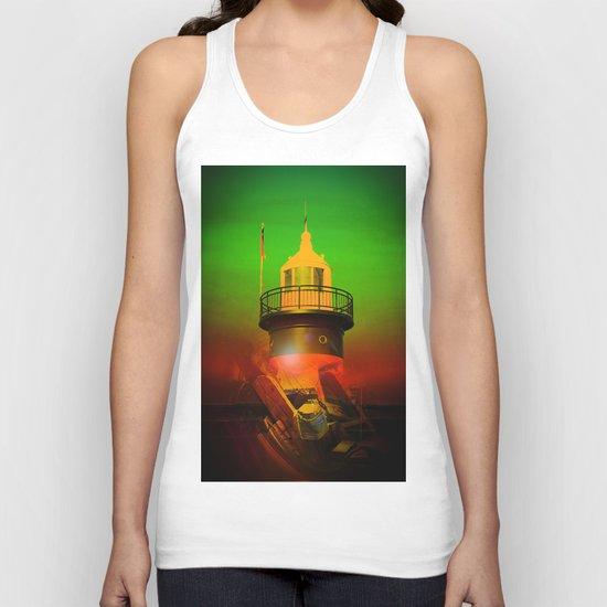 Lighthouse 4 Unisex Tank Top