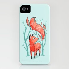 Winter Fox iPhone (4, 4s) Slim Case