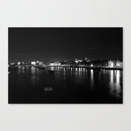 River Thames #1 Canvas Print