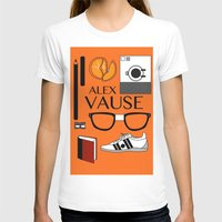 alex vause T-shirts featuring Alex Vause Poster by Zharaoh