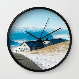 Mount Rigi Alpine View Wall Clock