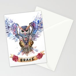The Brave Stationery Cards