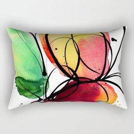 Ecstasy Bloom No.6 by Kathy Morton Stanion Rectangular Pillow