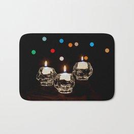Holiday Candles Bath Mat