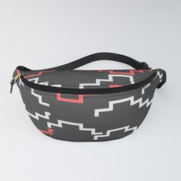 Lines in the dark Fanny Pack