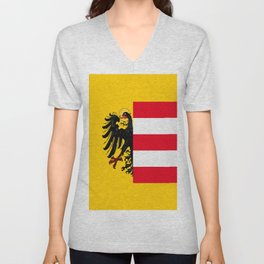 Flag of Nuremberg Nürnberg Unisex V-Neck