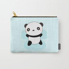 Kawaii Panda Snow Angel Carry-All Pouch