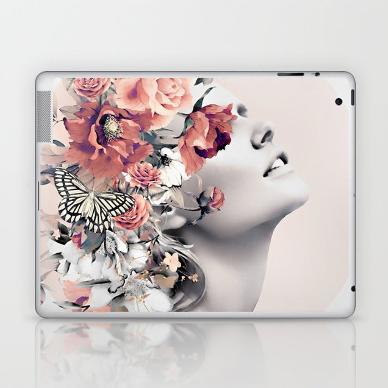 Bloom 7 Laptop & iPad Skin