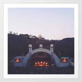 Hollywood Bowl- Summer, 2014 Art Print