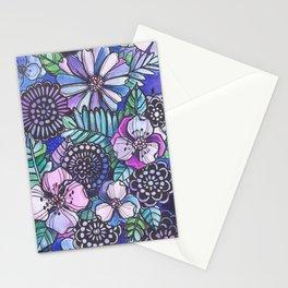 Midnight Jungle Stationery Cards
