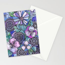 Midnight Jungle Stationery Cards