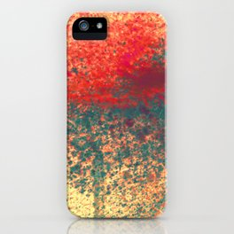 Ice Shade Blue iPhone Case